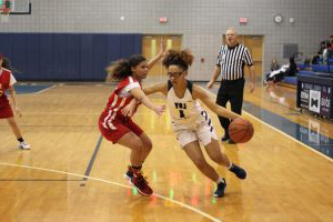 Comeback over setback:  Loy Norrix women's JV basketball wins against Grand Rapids Union High School