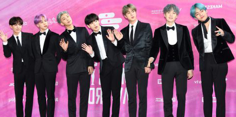 BTS at the 2019 Seoul Music Awards. WikkiMedia Commons