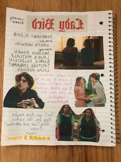 A page about the movie